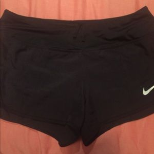 Nike dry fit running shorts, size M